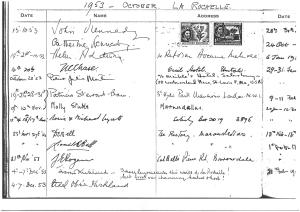 1953 vistor signatures